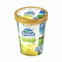 China 9oz paper cup for ice cream and hot drinks on sale