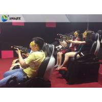 Quality Indoor 3 Seater Shooting Gun Game 7D Cinema Movie Theater Interactive Machine wholesale