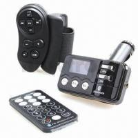 Quality Handfree Bluetooth MP3 Car Player, Double Remote Control wholesale