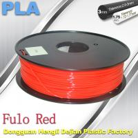Quality 1.75 / 3mm Fluorescent Filament   PLA Fluo filament  bright color filament wholesale