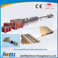 Quality Jwell PS foamed picture frame extrusion line wholesale