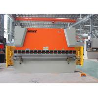 Quality Hydraulic Sheet Metal NC Press Brake Equipment With Laser Safety Protection wholesale