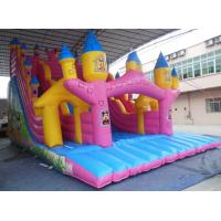 Quality Giant mickey castle slide Inflatable Slide Rental / Inflatable slide combo wholesale