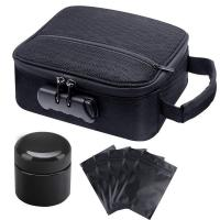 China Amazing design Premium Travel smell proof bag with Combination Lock on sale