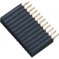 Quality 1*12P H=8.5 Female Header Connector Connector 1.27 Mm Pitch Phosphor Bronze wholesale
