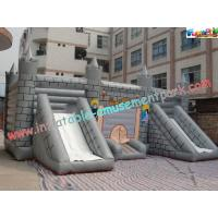Quality Kids Commercial Inflatable Bouncer Slide , Outside Magic Castle wholesale