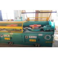 Quality High Effiency Abrasive Belt Grinding Machine For Lamp Post Polishing 1100mm / Min Speed wholesale