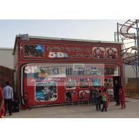 Quality Fiber Glass Material 5D Movie Theater with Pneumaitc / Hydraulic / Electric System wholesale