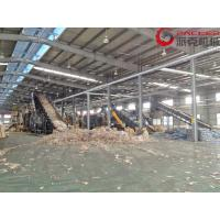 China 5-8 M3/Hour Plastic PET Bottle Recycling Machine Full Automatic With Dewatering Drying on sale