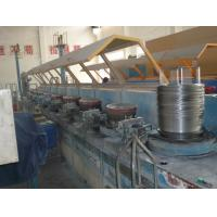 Quality Electrical Stainless Steel Wire Drawing Machine With Touch Screen Control wholesale