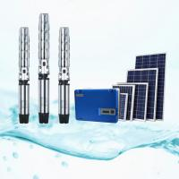 Cheap Fanless Solar Panel Water Pump Kits , Solar Powered Agricultural Water Pumping for sale