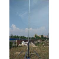 China endzone camera motorized Pan & Tilt head for aerial photography mast ground based aerial videoing endzone film alu pole on sale