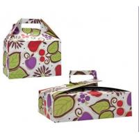 China Meal / Lunch Box, Cake / Pizza Cardboard Packaging Boxes For Bakery House on sale