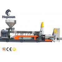 China Small Co Rotating Twin Screw Plastic Extruder Machine PP PE Plastic Pelletizing on sale