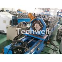 Quality Top Furring Channel Cold Roll Forming Machine With Continuous Servo Tracking Cutting wholesale