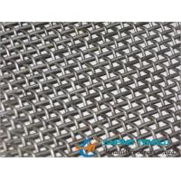 Cheap Stainless Steel Single, Double Intermediate Crimped Wire Mesh/Screen for sale