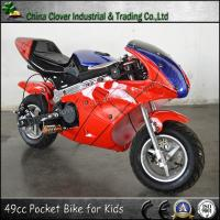 China Red Spider Color Gas Motorcycle 49cc Kids Motor Pocket Bike on sale