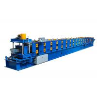 China Power 5.5 KW Seamless Aluminium Gutter Machines , Gutter Rolling Machine Customized Color on sale