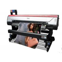 Quality Outdoor Digital Solvent Printer Industrial , Wide Format Inkjet Printer 1630mm wholesale