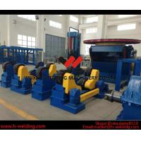 Cheap Wind Tower Assembly And Fit Up Welding Turning Rolls / Turning Bed Rotator with PU Roller for sale