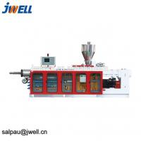 China Continuous Working Plastic Pellet Extruder , Pvc Pelletizing Line Metal Structure on sale