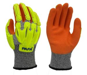 China Nitrile Coating HPPE 13G Level D Protection Cut Resistant Hand Gloves on sale