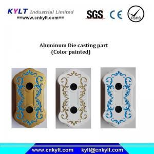 Quality Multi Colors Painted Aluminum Casting Part wholesale