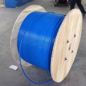 Quality PVC Sheath Armoured Fiber Optic Cable Mining Flame Retardant MGTSV G652d Stranded wholesale