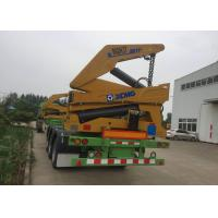 Quality Normal Suspension Truck Mounted Crane With 3 Axles 40 Feet Container wholesale
