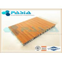 Quality Bamboo Veneer Composite Aluminum Faced Panels Soundproof Antirust wholesale