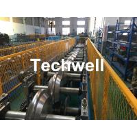 Quality Metal Valley Flashing Roll Forming Machine With 45# High Grade Steel Roller Material And 0-15m/min Forming Speed wholesale