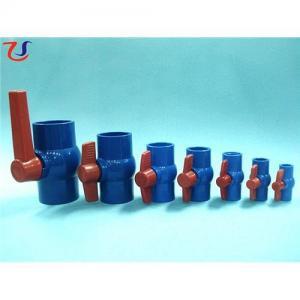 China Southeast Asia Blue PVC Ball Valve on sale