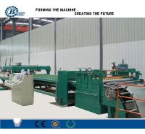 Quality Adjustable Cut To Length Line 1800mm , Sheet Metal Slitting Machine wholesale