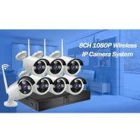 China 8CH HD WiFi Wireless Indoor Outdoor Home Security Camera System wifi nvr kit 720P on sale