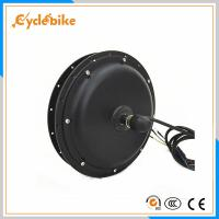 China High Speed 1000w 48v Geared Brushless Dc Motor For Electric Bike Conversion Kits on sale