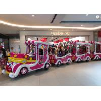 Quality Luxury Cartoon Trackless Train Amusement Ride With Stainless Steel Material wholesale