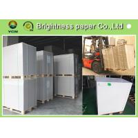 White Baking Coated Board Paper CCNB Paperboard Water Resistance