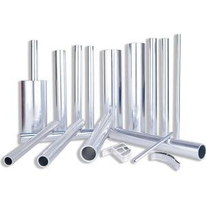 China Extruded Powder Coated Aluminum Tube on sale
