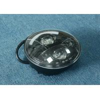 """Cheap 70W 7"""" Jeep LED Headlights High / Low H4 Or H13 Jeep Half Halo Ring for sale"""