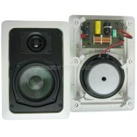 """Quality 25w 5.25"""" White Installing In Wall Speakers With Fiberglass Cone wholesale"""