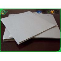 Quality Uncoated Grey Board Paper Custom Size 300gsm - 3150gsm For Shoes Box wholesale