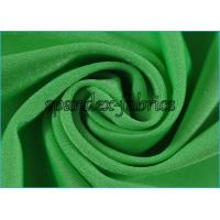 Quality Green Shiny Nylon Lycra Spandex Fabric Good Stretch Eco Friendly wholesale
