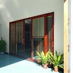Quality 2.0mm aluminum profile thickness sliding glass door wholesale