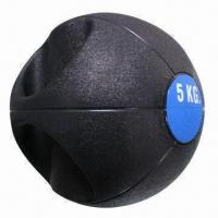China Single Grip Rubber Medicine Ball, Easy to Grip on sale
