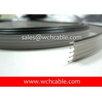 Quality XLPE Flat Ribbon Cable UL21016 #28AWG 64Pins 0.90mm Pitch Tinned Stranded Copper Conductors wholesale
