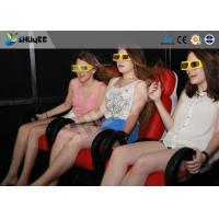 Quality 5D Cinema System  Internal of Mobile Car With Wheel , Moved to the  crowded places wholesale