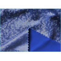 Quality Fashion Soft Navy Blue Mystique Spandex Fabric Material for Swimsuit or Underwear wholesale