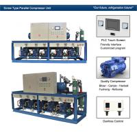 Quality Cattle Meat Cooling Bitzer Condensing Units Parallel Compressor Racks wholesale