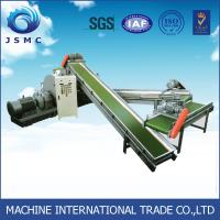 Quality 500 Kg / H 40 Mesh Rubber Recycling Plant For Waste Tyre Steel Magentic Separator wholesale