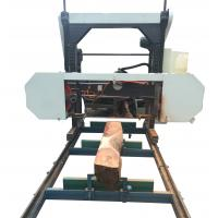 Buy cheap Portable Lumber Mobile Horizontal Band Saw Mill with Diesel Engine from wholesalers